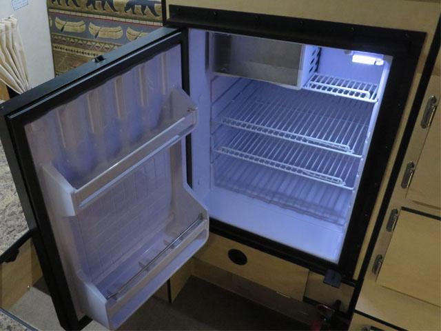 Compressor Refrigerators, AC Electricity & DC 12 Volt Battery (No Propane Feature)