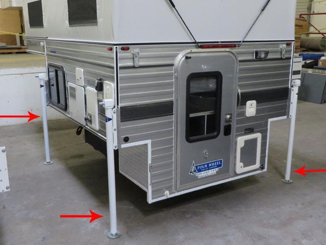 Mechanical Camper Jacks