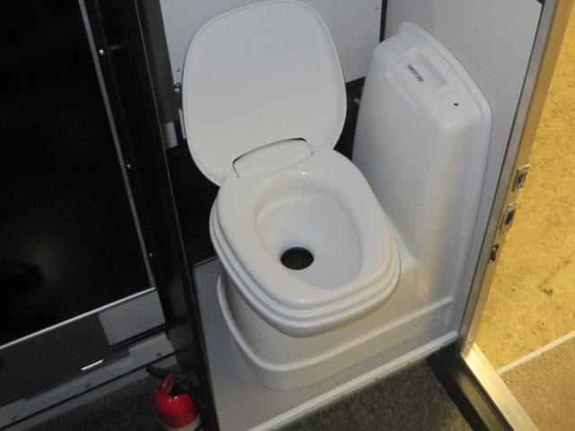 Built-In Casette Toilet