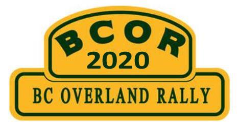 British Columbia Overland Rally (BCOR)