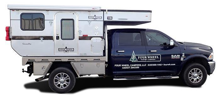 Full Sized Truck w/ Long 8.0' Flat Bed