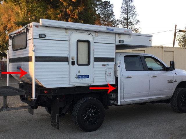 Hawk Flat Bed Model Four Wheel Campers