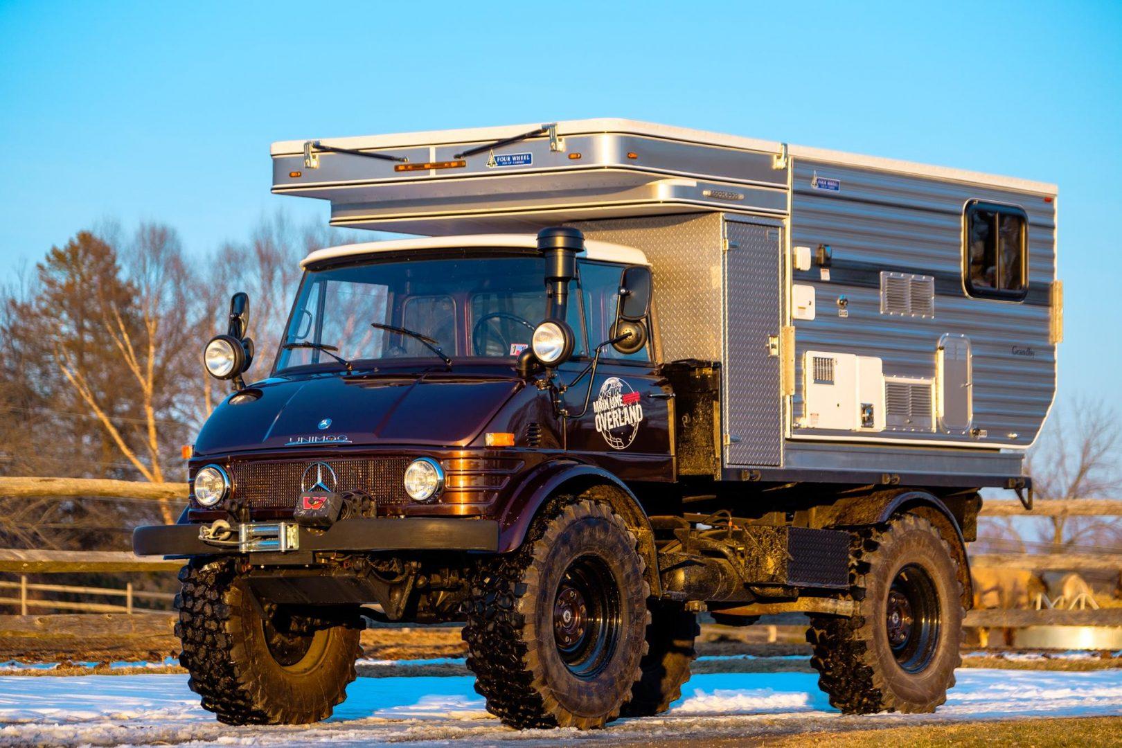 Off Road Mercedes Is An Overland Castle On Wheels – Van Clan