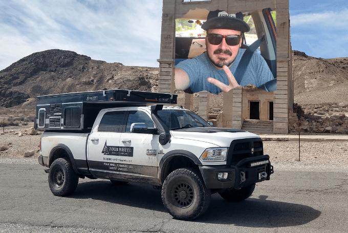 Sir William Tackles Death Valley in a FWC Hawk – Truck Camper Adventure