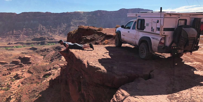 Wheelin' in Lockhart Basin, Moab UT
