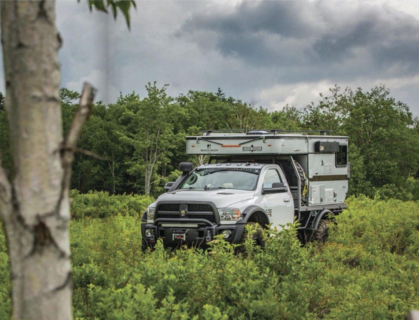 Brutus the Truck Camper – TREAD Magazine