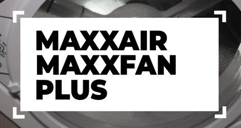 Maxxfan Powered Roof Vent Fan